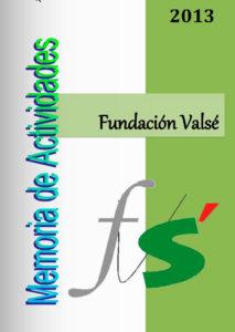 fundación valse memoria actividades 2013