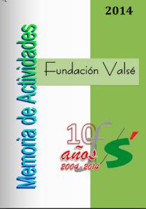 fundación valse memoria actividades 2014