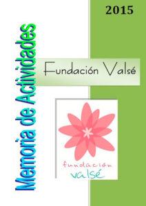 fundación valse memoria actividades 2015