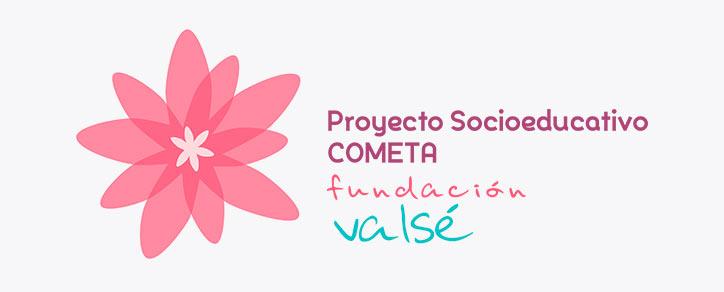 Fundación Valsé logo Proyecto Socioeducativo Cometa