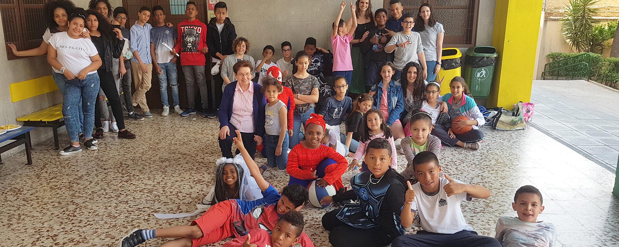 Proyecto Socioeducativo CHAPUZÓN  (Tetuán – Madrid)