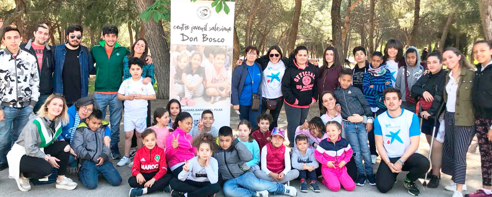 Proyecto Socioeducativo PUZLE  (Barrio del Pilar – Madrid)