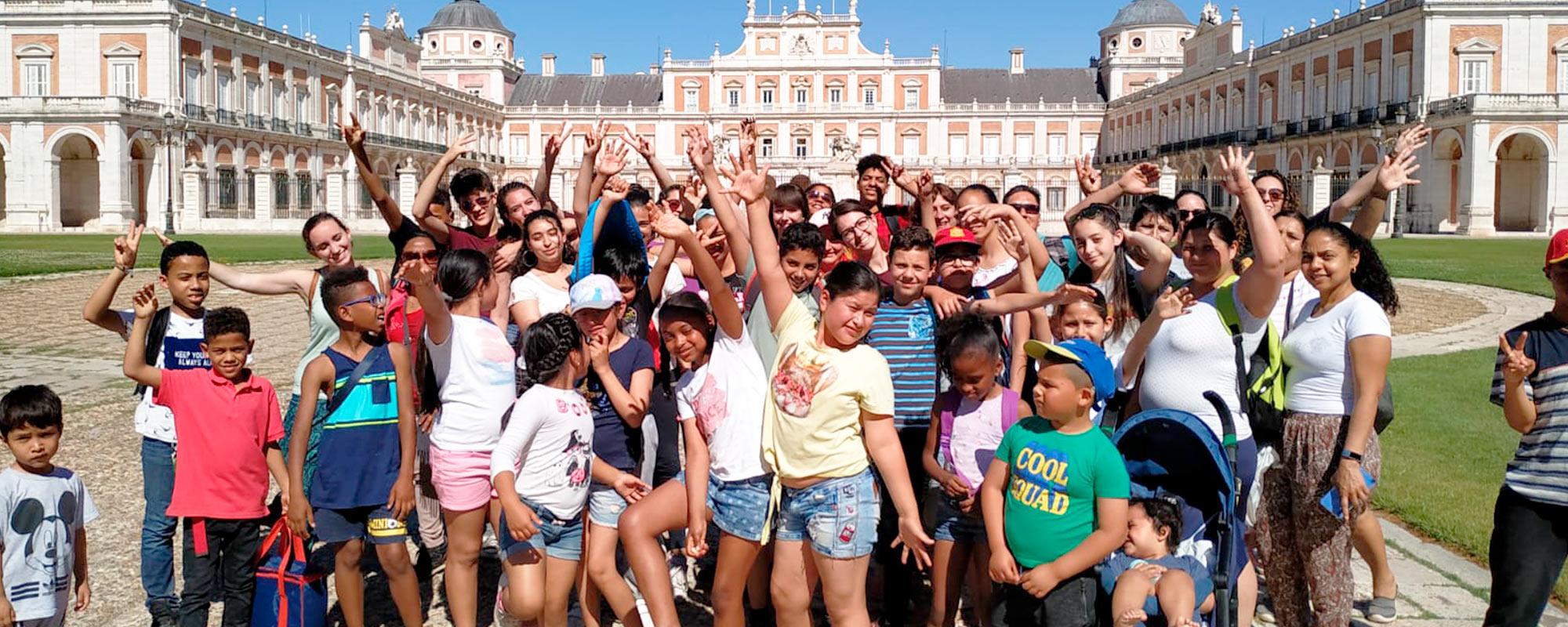 Proyecto Socioeducativo TRAMPOLÍN  (Ciudad Lineal – Madrid)