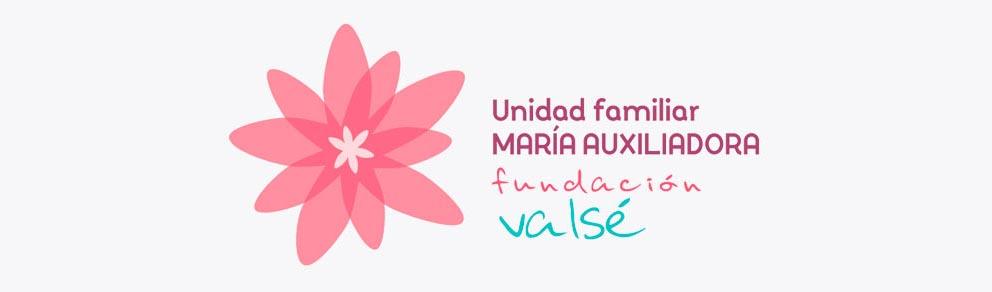 Fundación Valsé logo unidad familiar María Auxiliadora 2