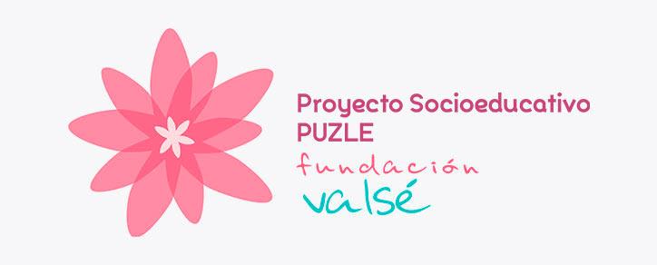 Fundación Valsé logo Proyecto Socioeducativo Puzle